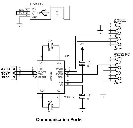 Communication Port circuit