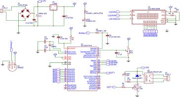 Temperature controller LM35